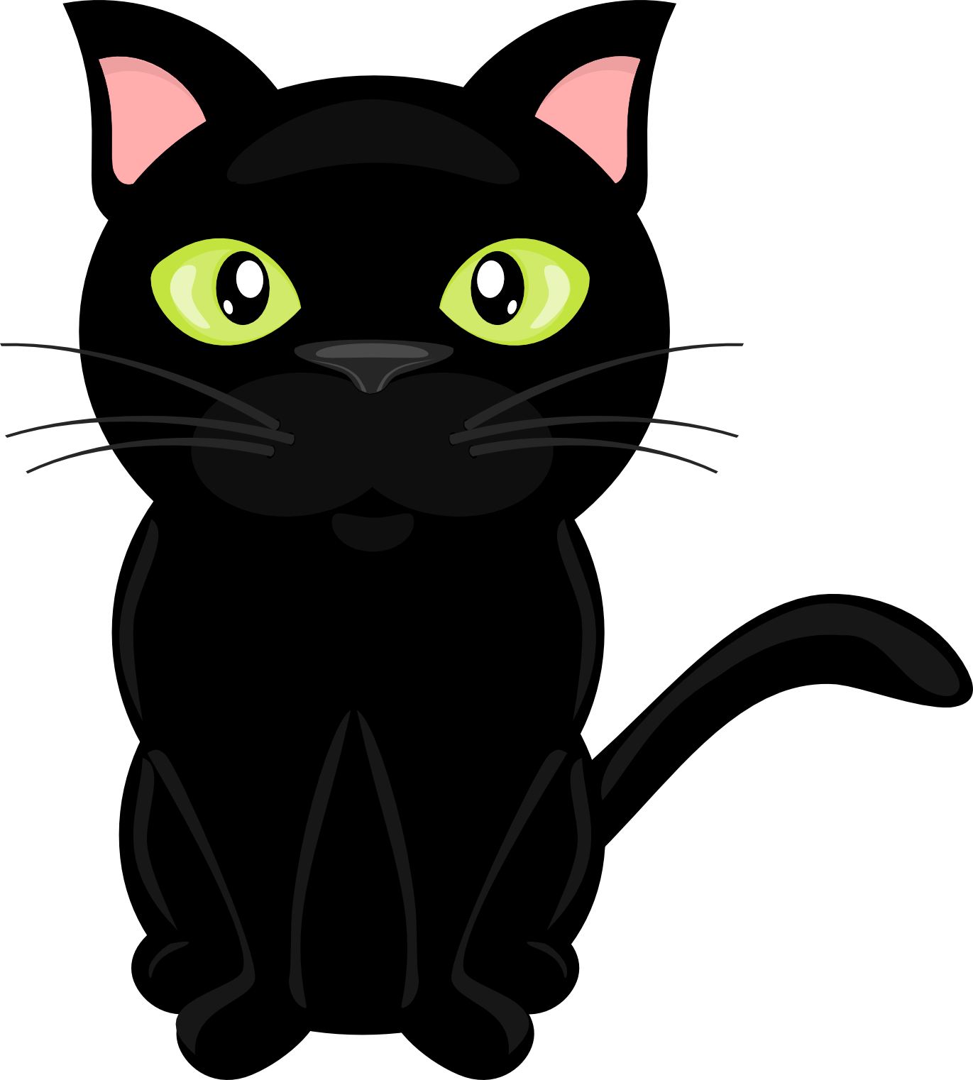 Cat clip art transparent background. On the farm green