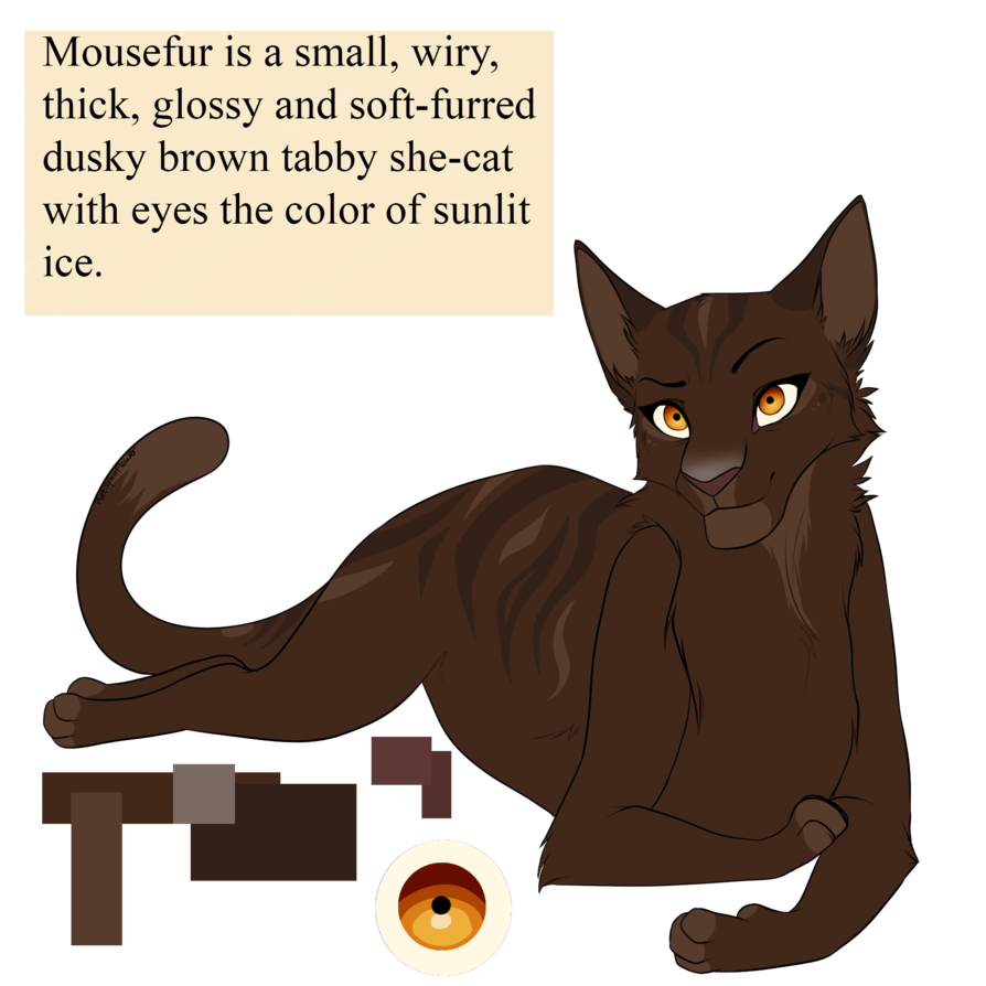 Cat dab png. Mousefur by purespiritflower on