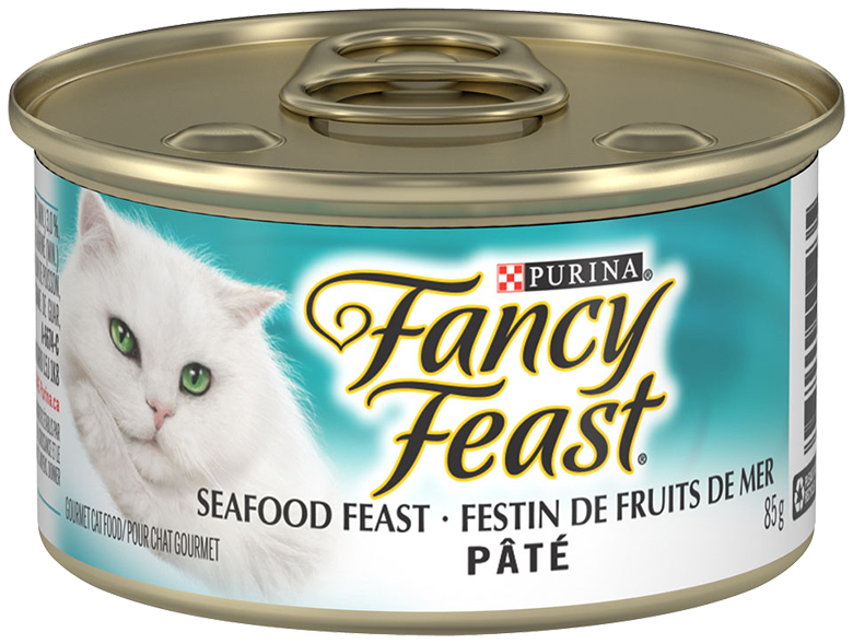 Cat food png. Purina fancy feast pate