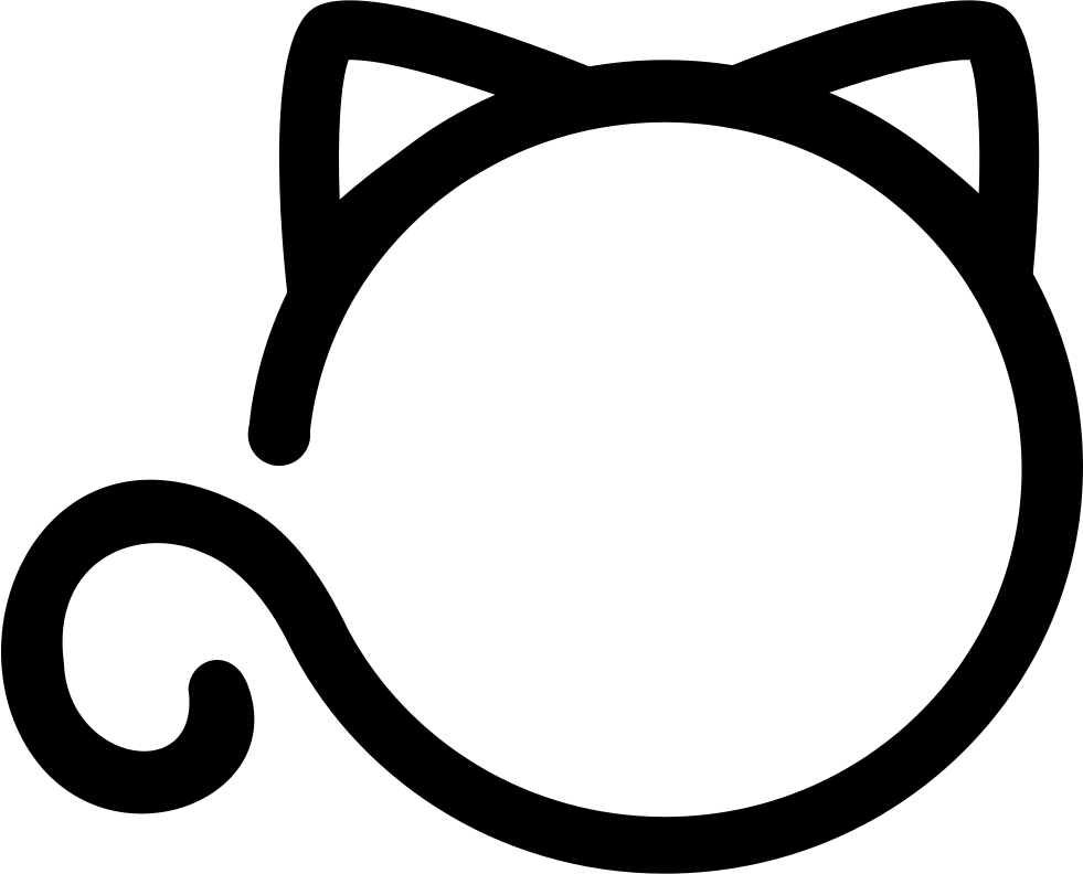 Cat icon png. Loading svg free download