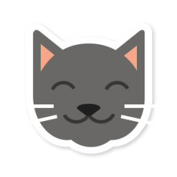 Cat icon png. Swarm app sticker iconset