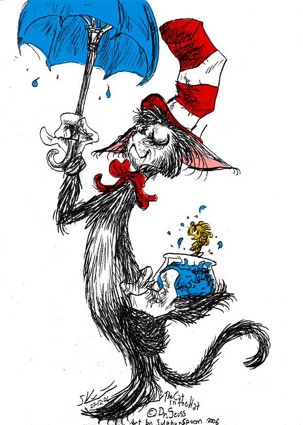 Cat in the hat hat png. Da sorta by spoonfayse