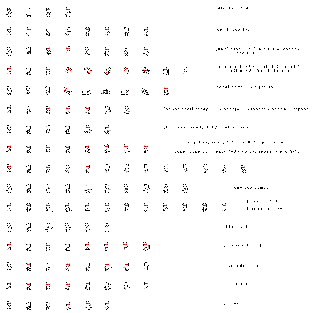 Cat sprite sheet png. Fighter opengameart org preview