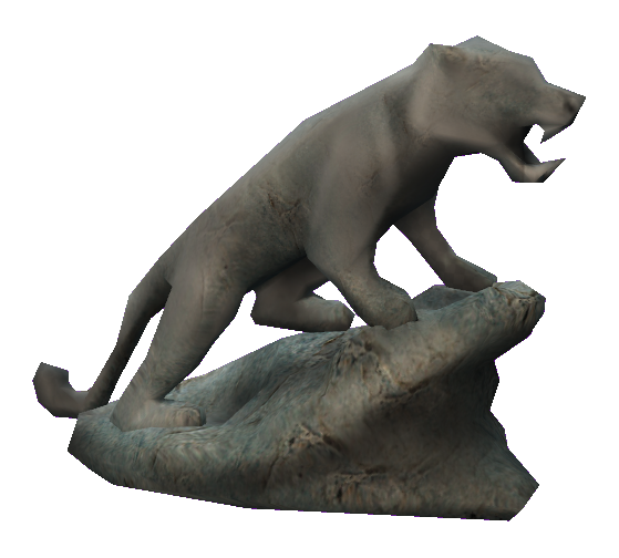 Cat statue png. Free map object by