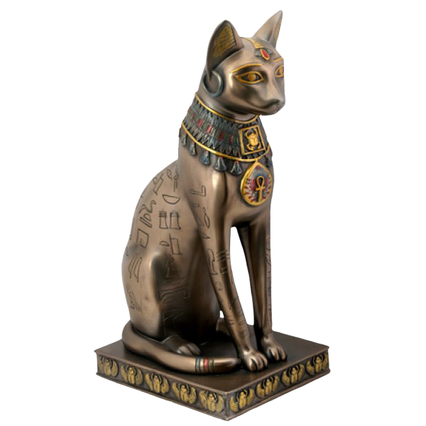 Cat statue png. Stock by alien on