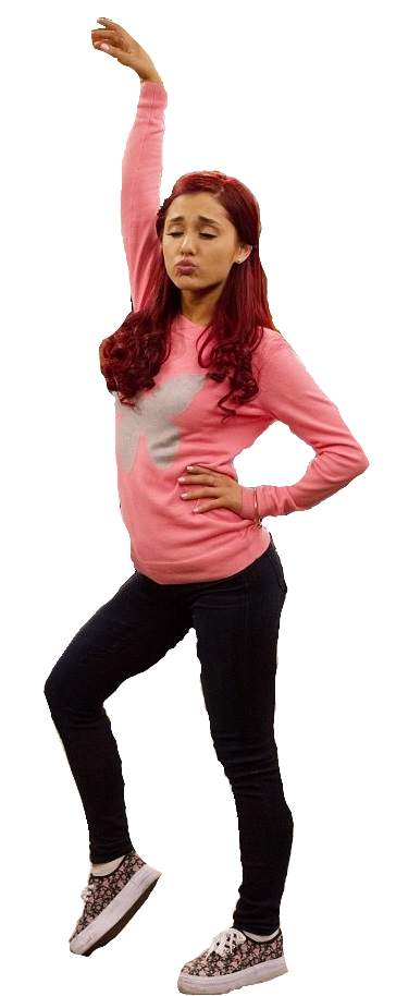 Cat valentine png. By arigrande lyf on