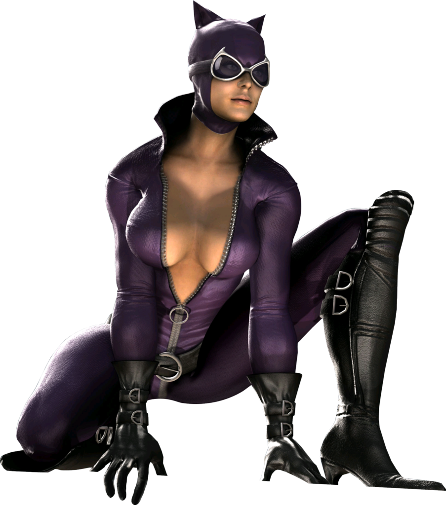 Cat woman png. Image purple suited catwoman