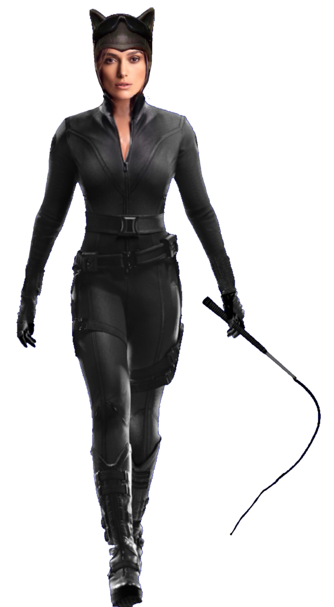 Catwoman transparent dceu. Keira knightley as png