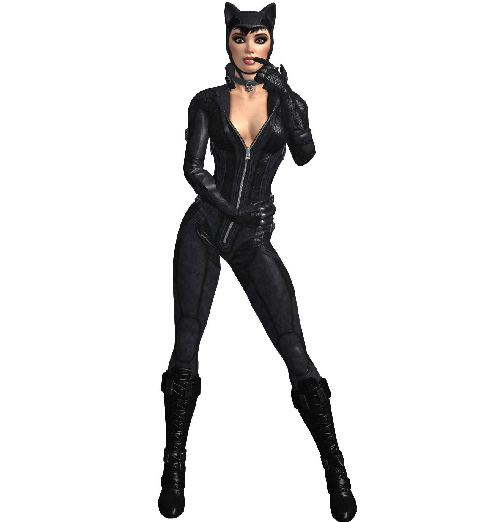 catwoman transparent whip