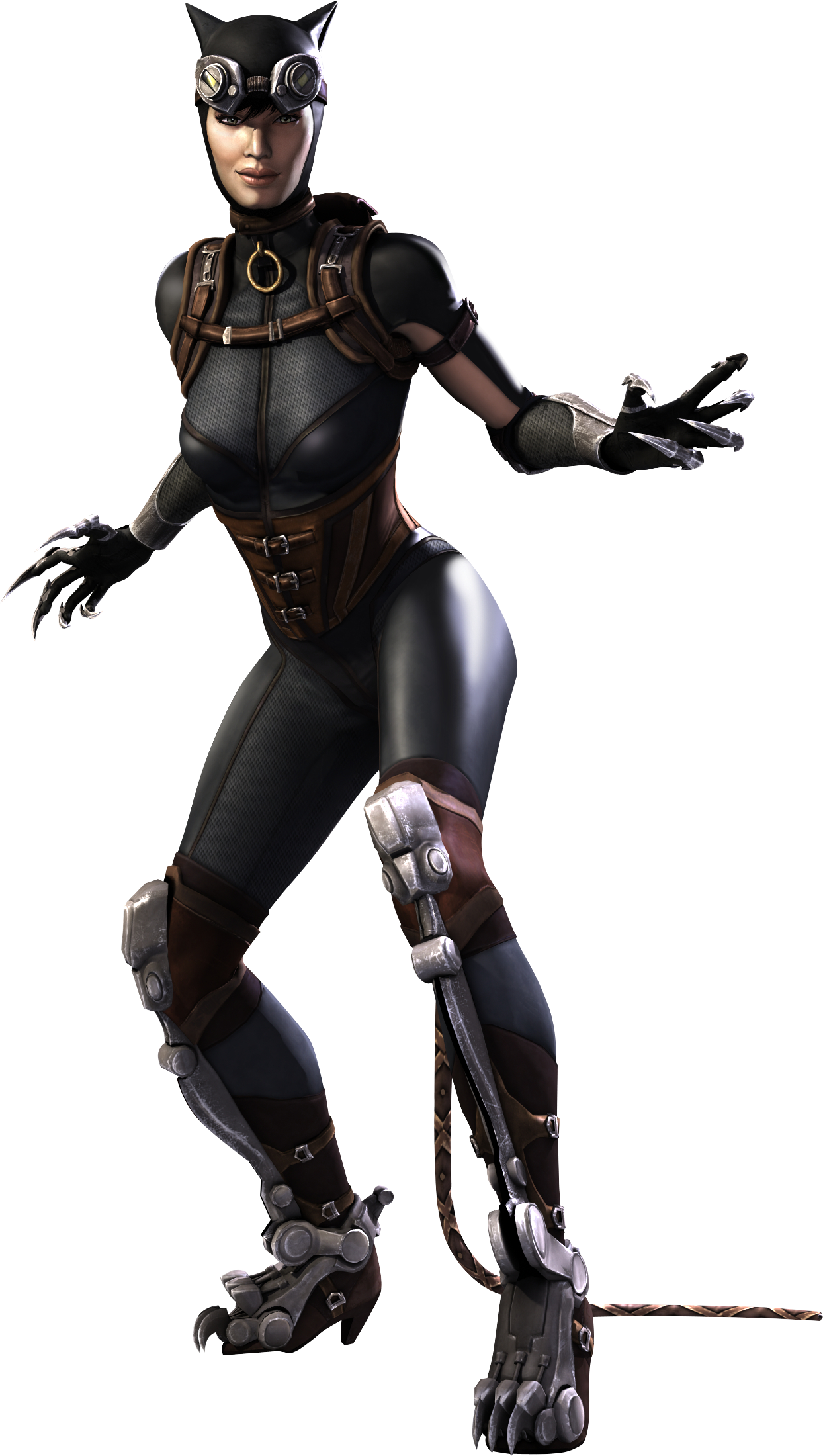 Catwoman transparent arkham series. Png clipart all