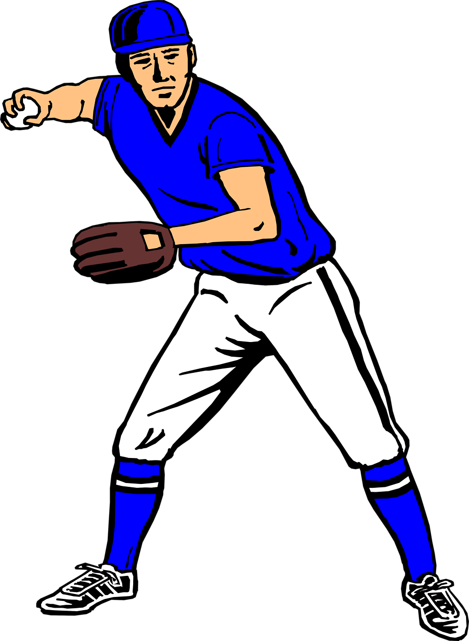Catcher clipart baseball pitcher. Player free image clip