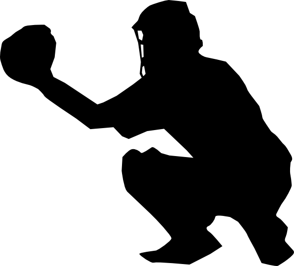 Catcher clipart baseball pitcher. Softball player