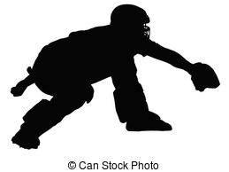 Vector eps images players. Catcher clipart baseball pitcher svg transparent library