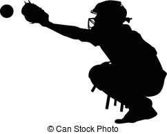 Catcher clipart. Illustrations and stock art picture freeuse