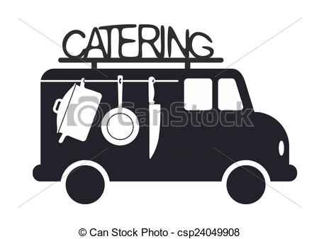 Side view of a. Catering clipart png transparent