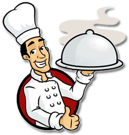 Caterer png transparent images. Catering clipart cooker clipart black and white library