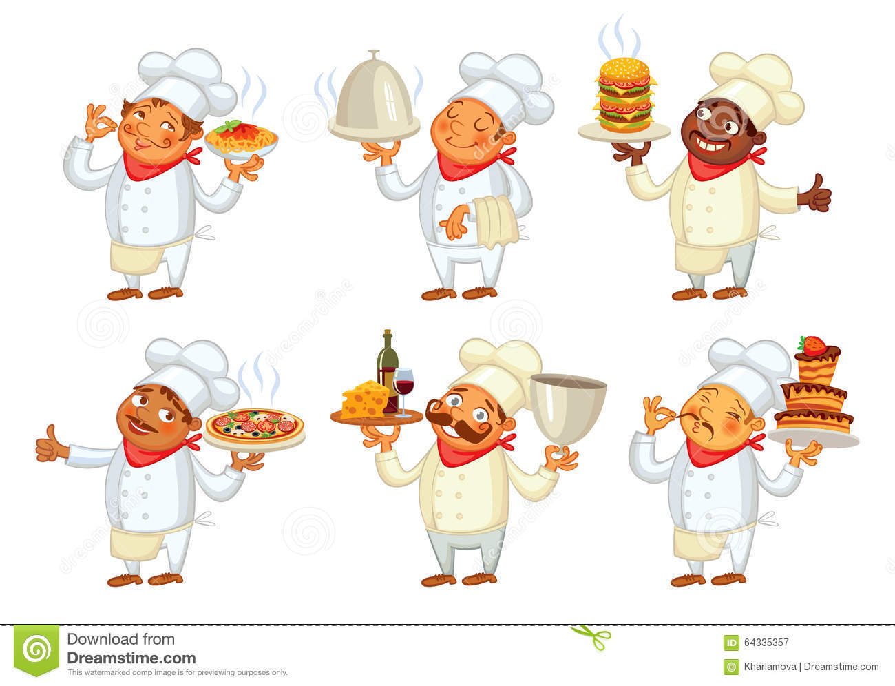 Chef serving the dish. Catering clipart cook chinese clip art freeuse download