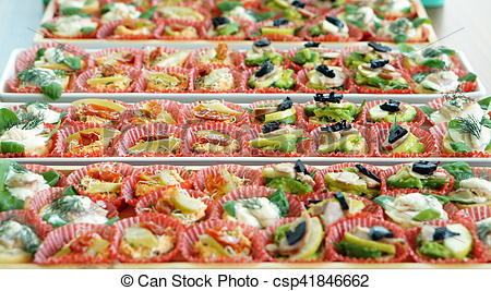 Finger serve in tray. Catering clipart food served clip free stock