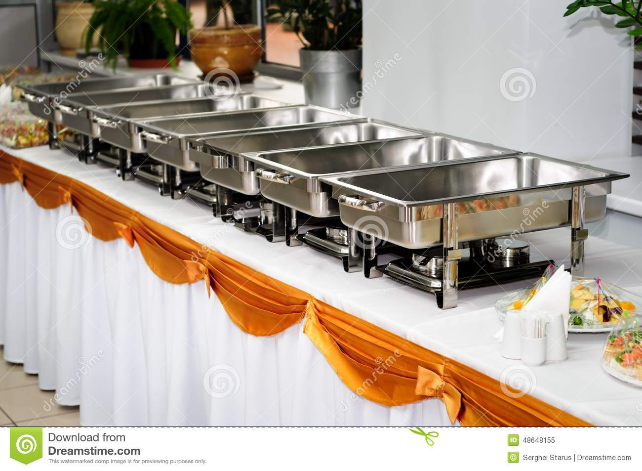Wedding stock image of. Catering clipart food served image