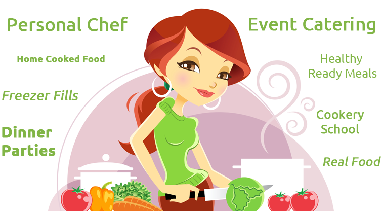 Personal chef services . Catering clipart home cooked food clip art download