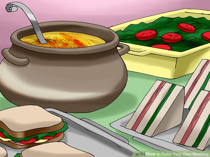 Catering clipart home cooked food. How to cater your picture stock