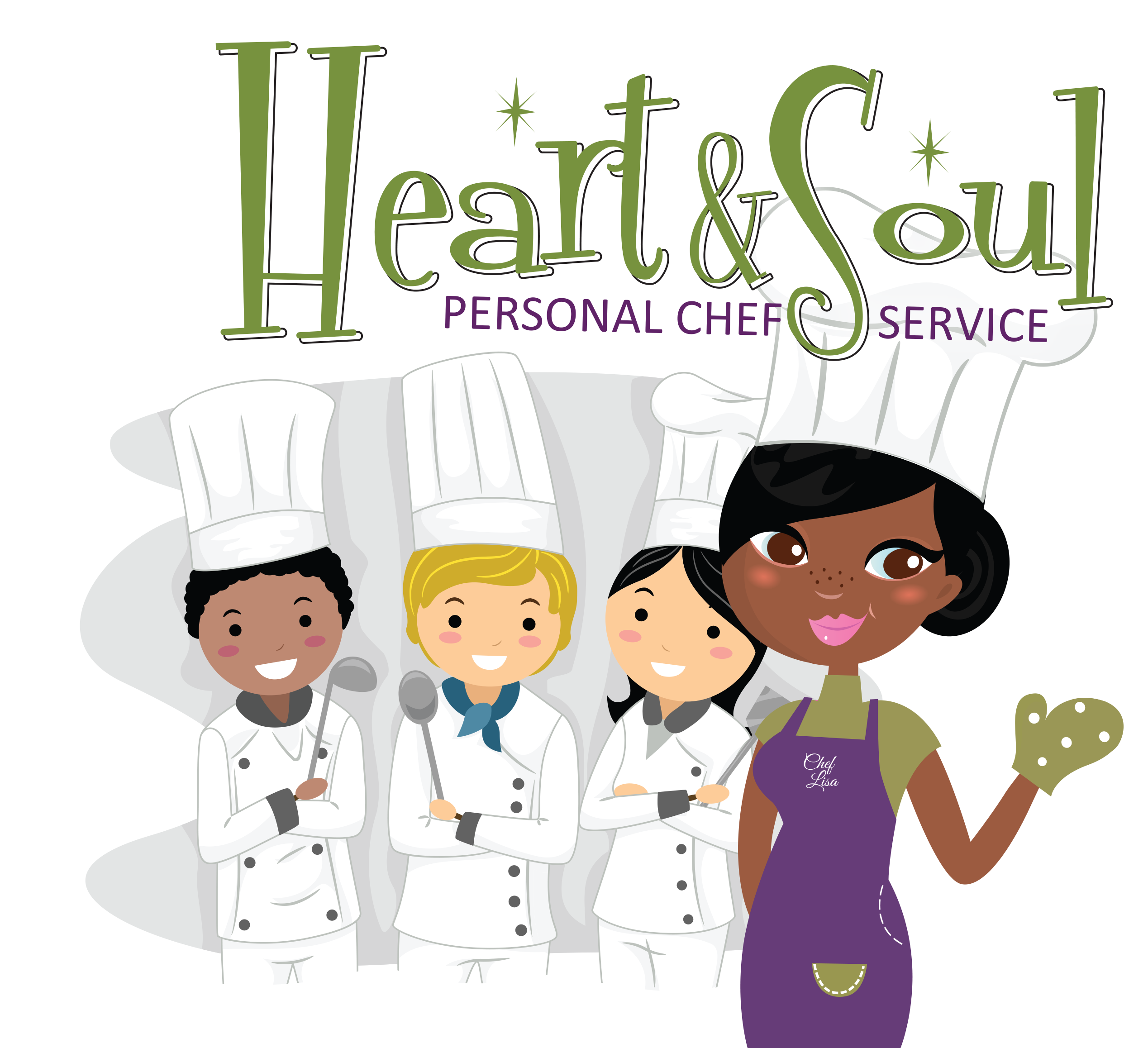 Catering clipart hotel cook. Heart soul personal chef