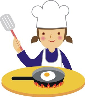 Catering clipart kid. Kids cooking panda free