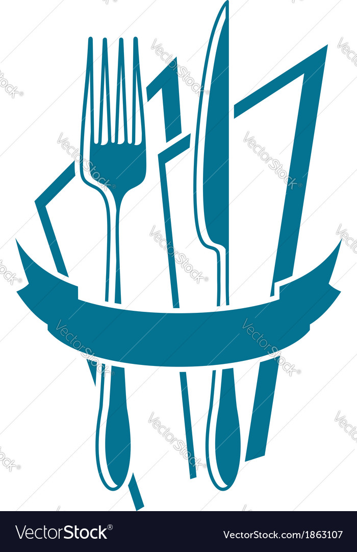 And napkin icon in. Catering clipart knife fork graphic royalty free library