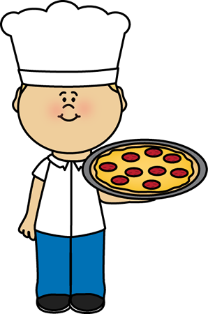 Catering clipart pizza chef. Postacie do opisania pinterest
