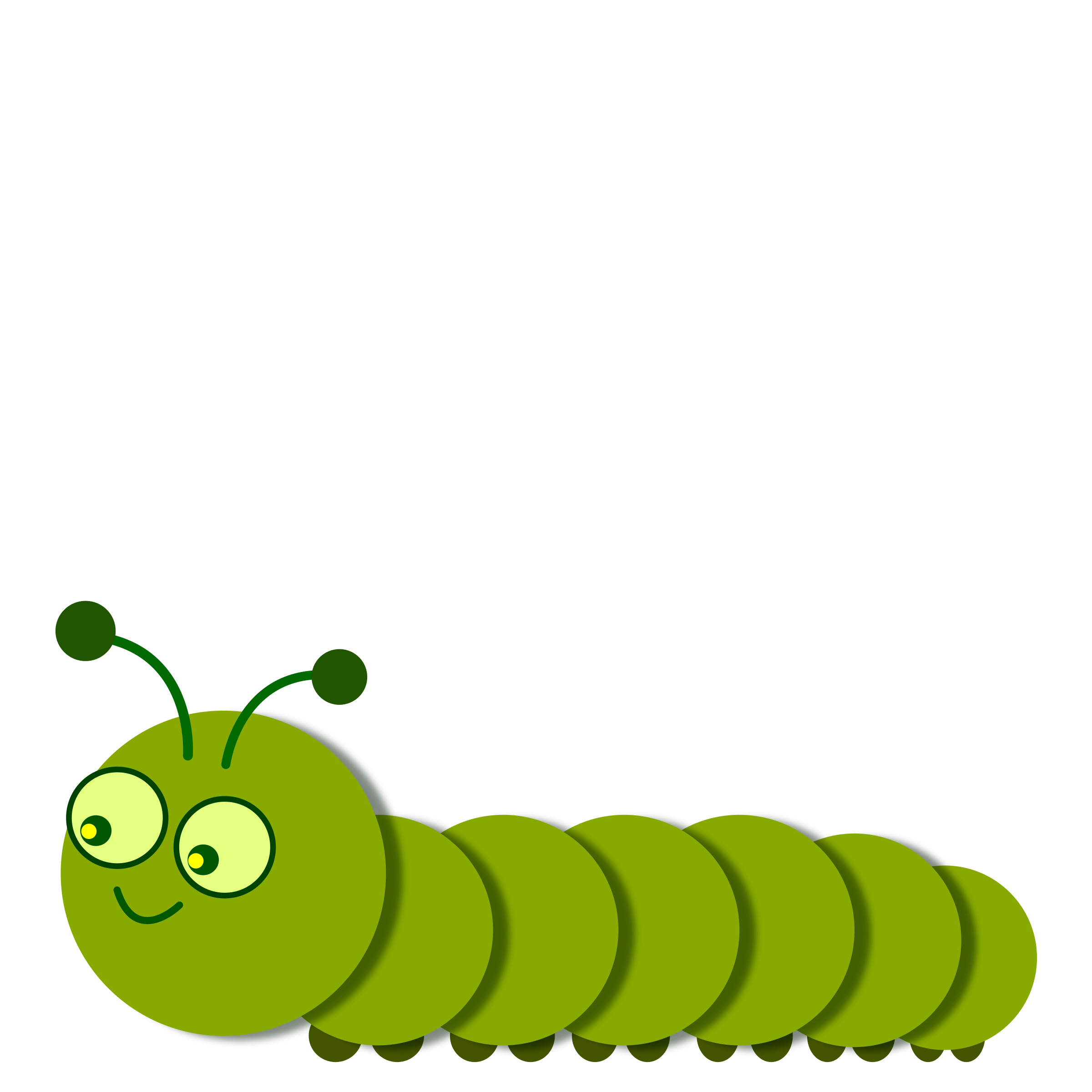 cute caterpillar png