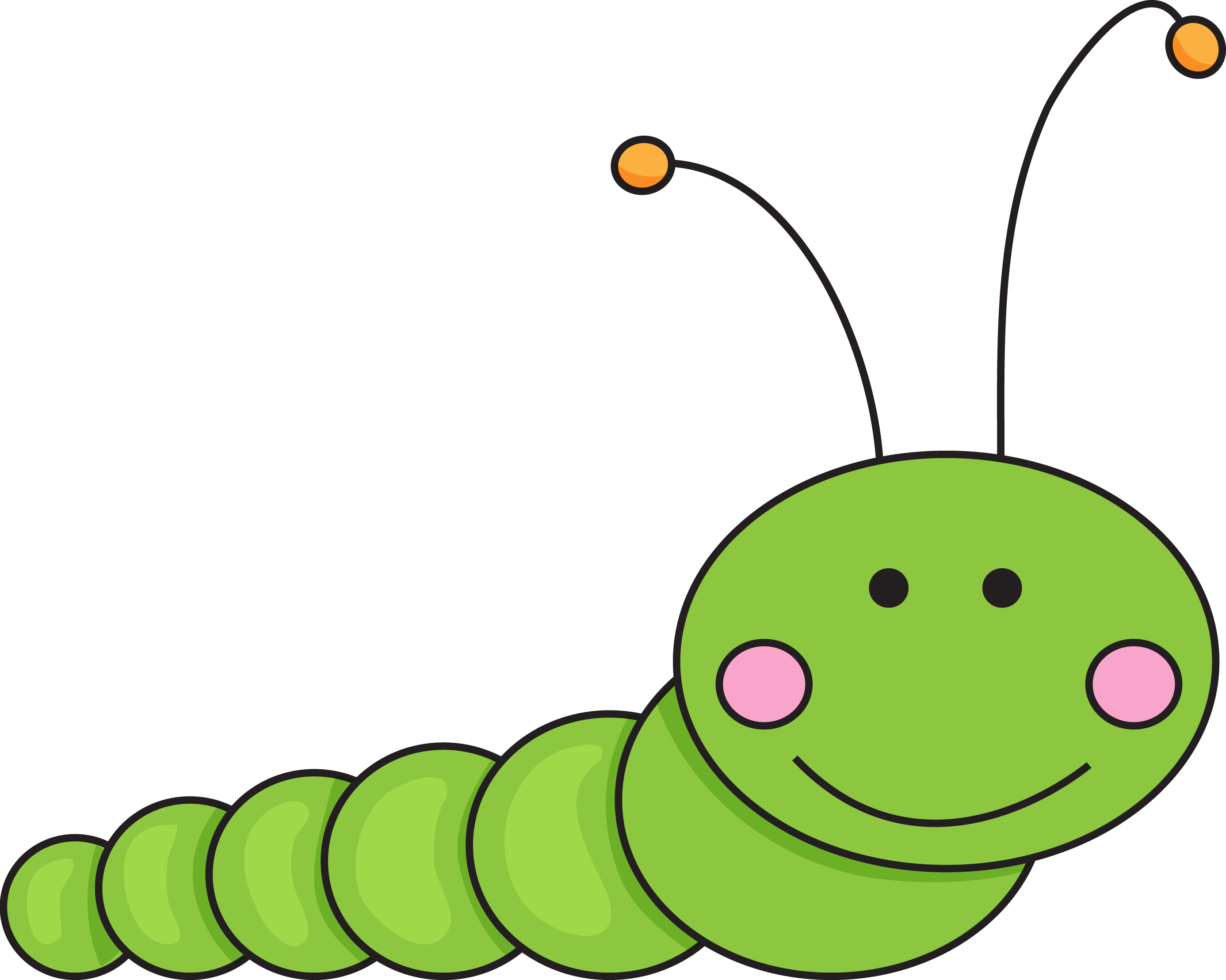 Caterpillar clipart. At getdrawings com free