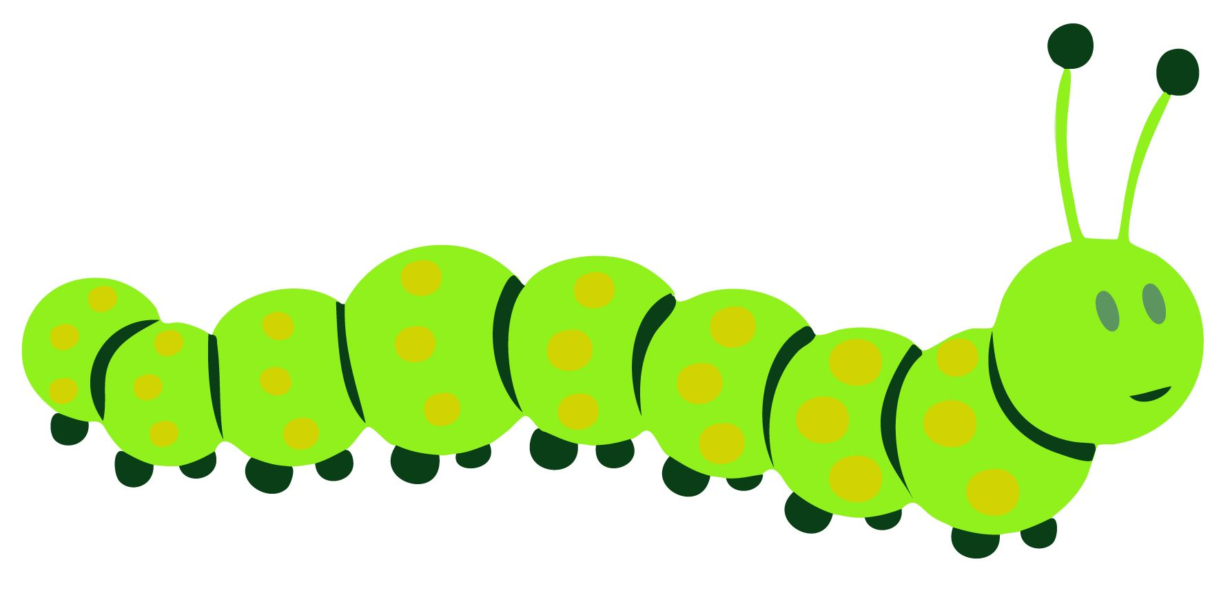 Caterpillar clipart. Of a typegoodies me