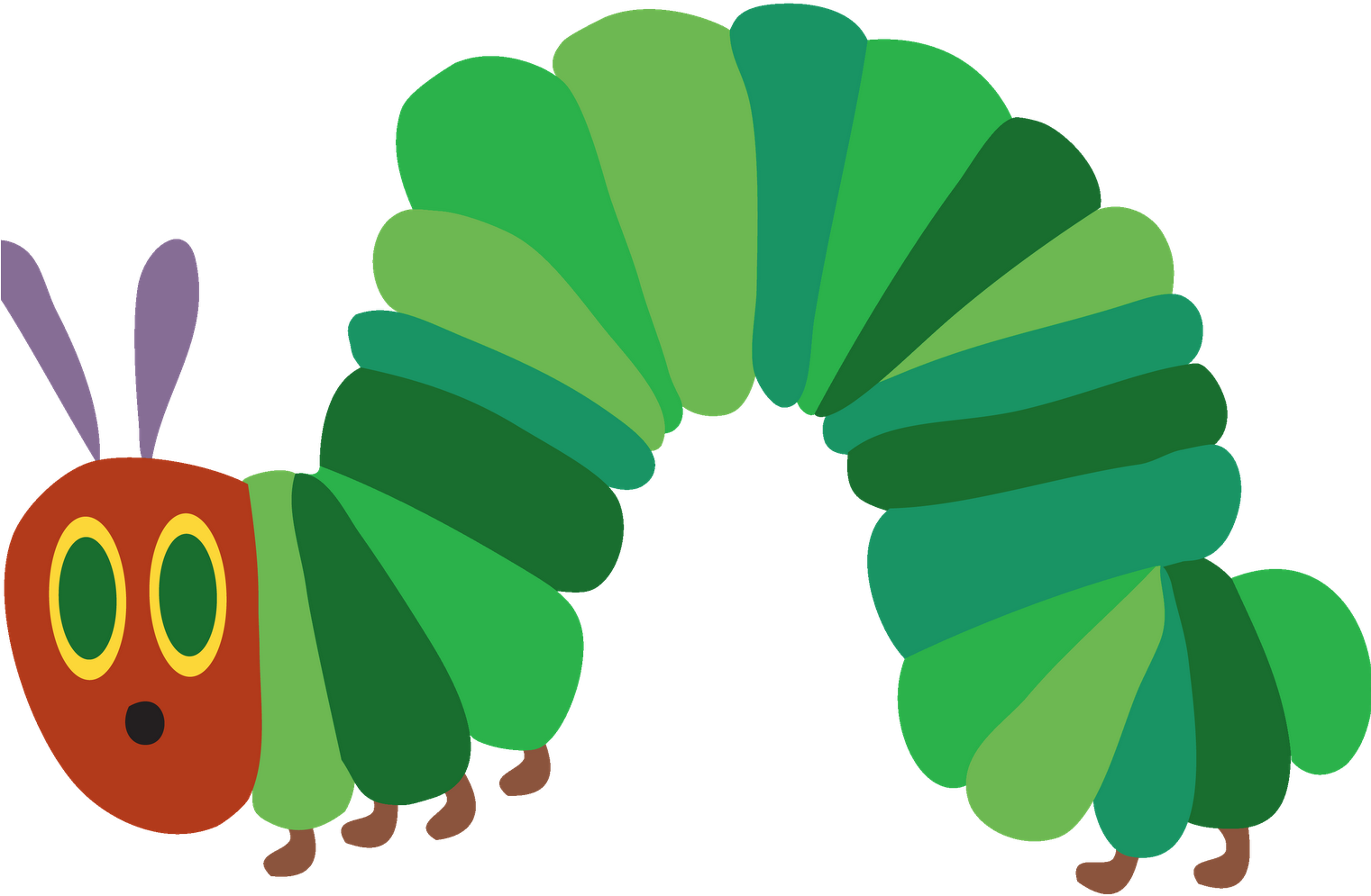 Cycle clipart butterfly. Life very hungry caterpillar