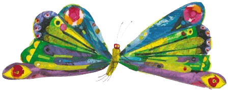 The hungry caterpillar png. Butterfly clipart image