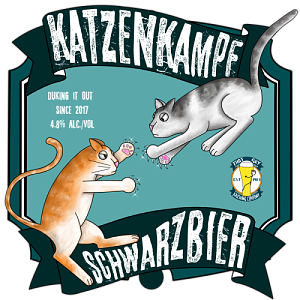 Catfight schwarzbier by artsofall. Catfighting clip art clipart freeuse stock