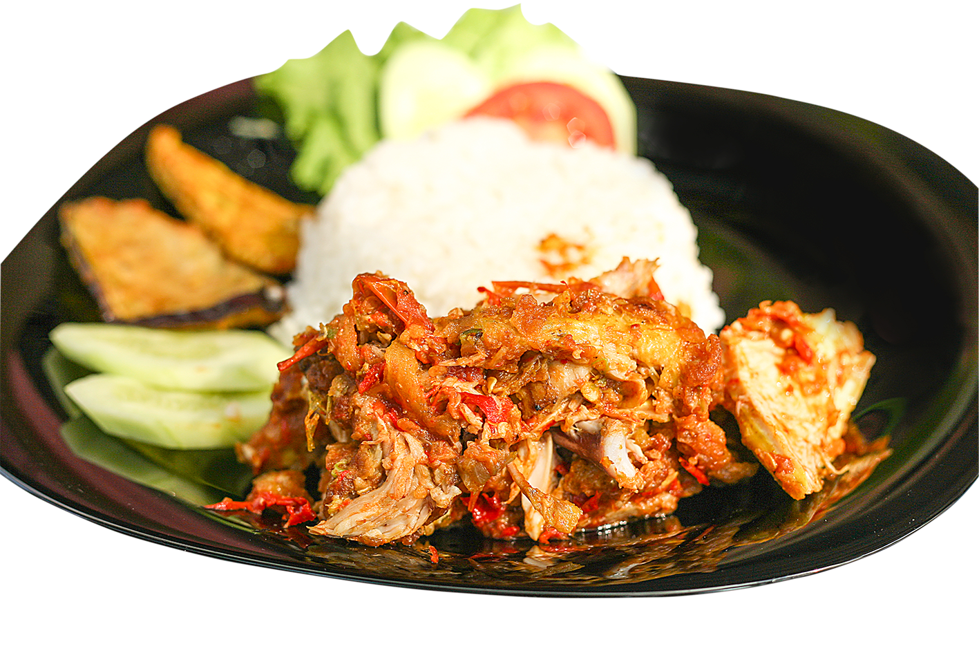 Catfish with rice png. Steemit ayam geprekpng