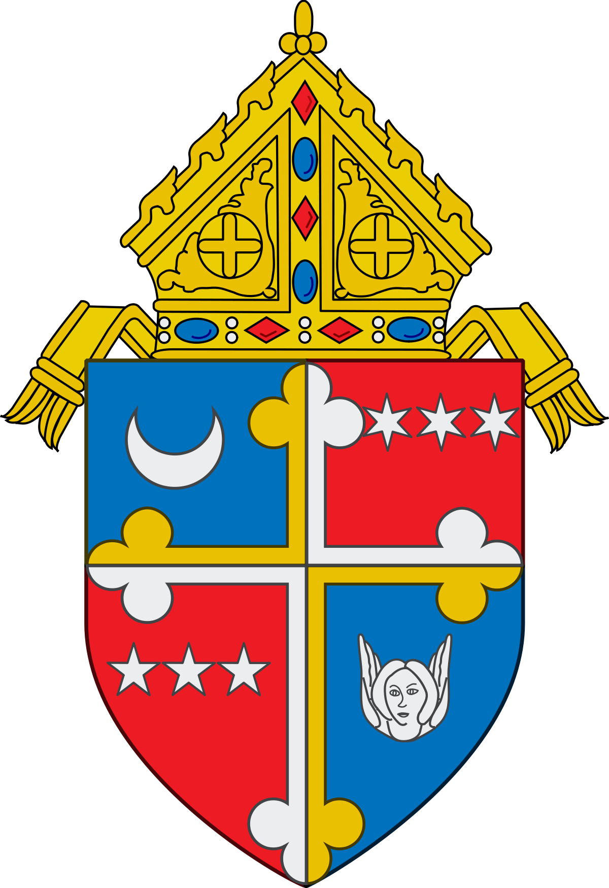 Catholic clipart archbishop. Roman archdiocese of washington