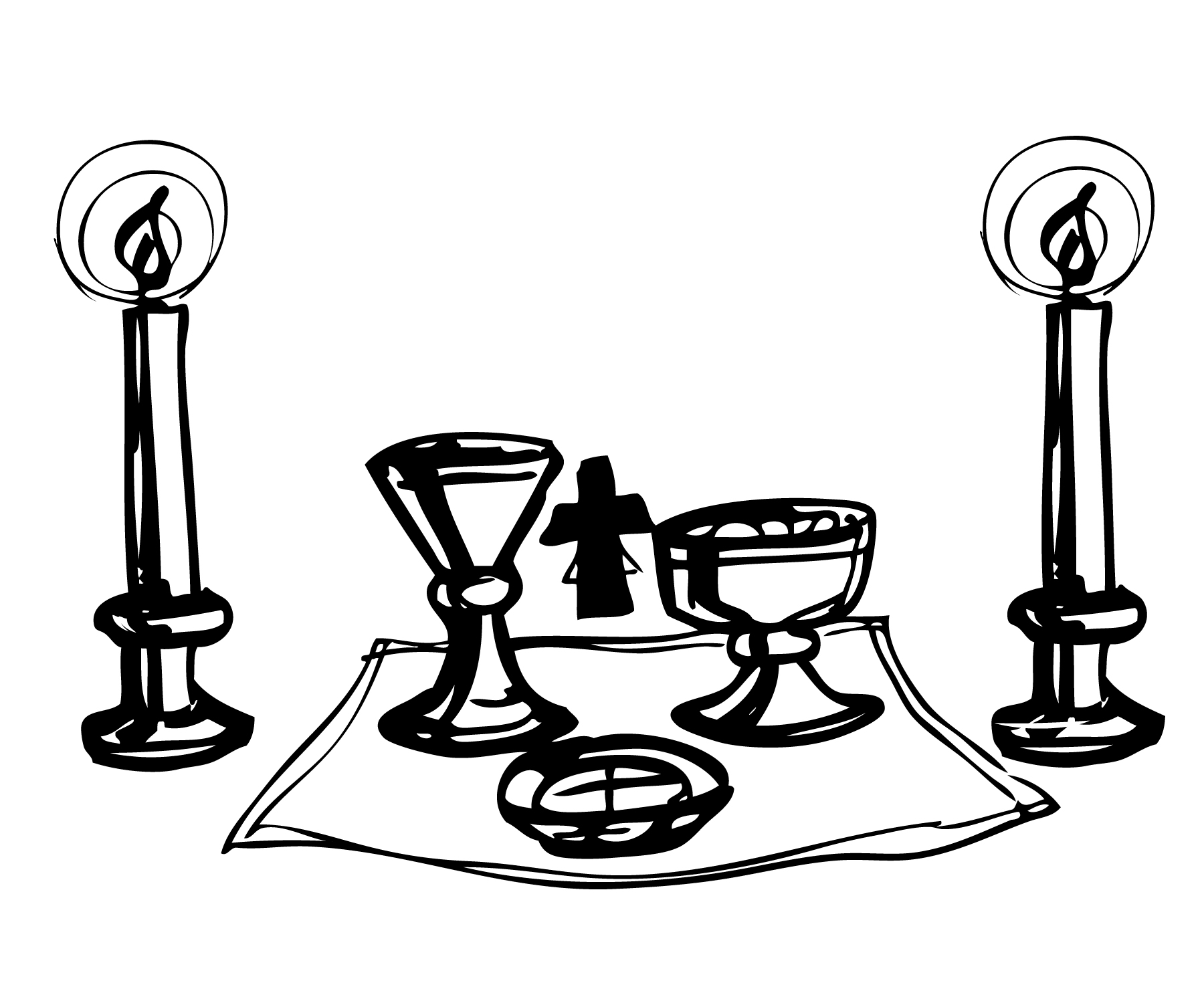 Catholic clipart catholic altar.