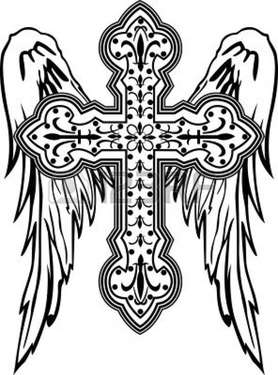 Catholic Cross Line Transparent Clipart Free Download