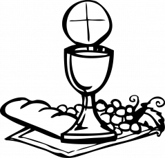 Catholic drawing first communion. Holy coloring pages clipart