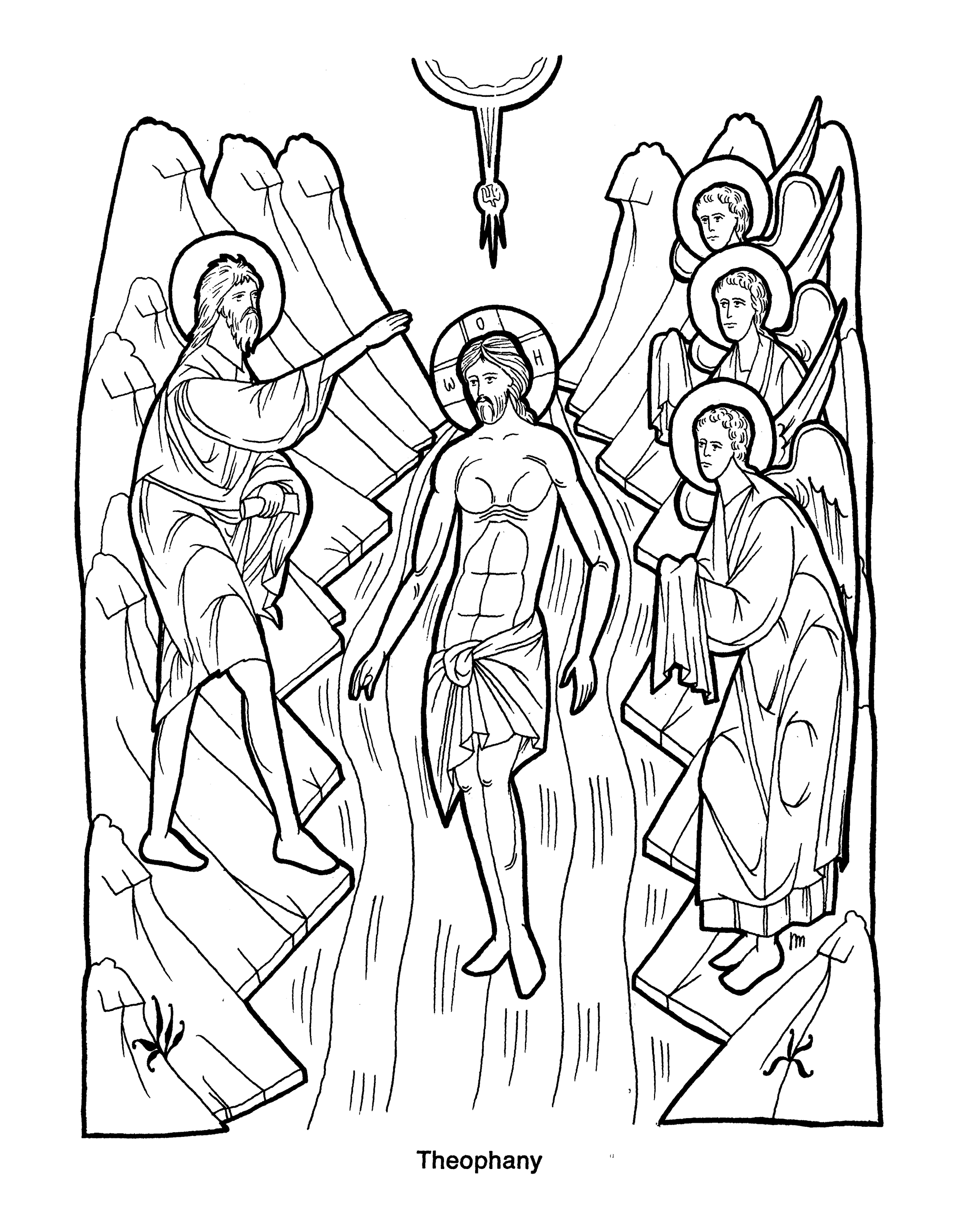 Catholic drawing pencil. Free coloring pages of