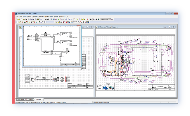 drawing schematics wiring diagrams