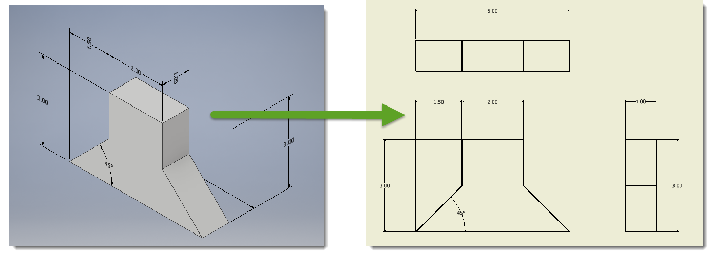 Annotated drawing annotation. Inventor let s take