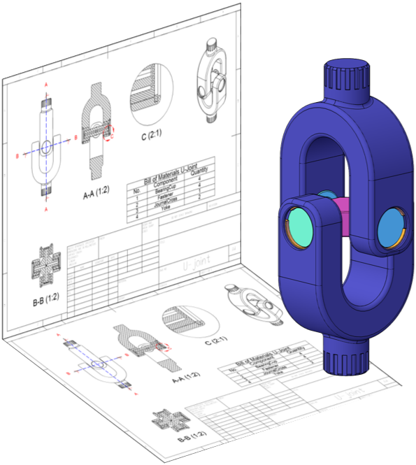 Product drawing creo. D direct modeling