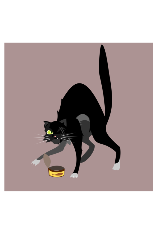 Cats clipart tree. Black cat whiskers tail