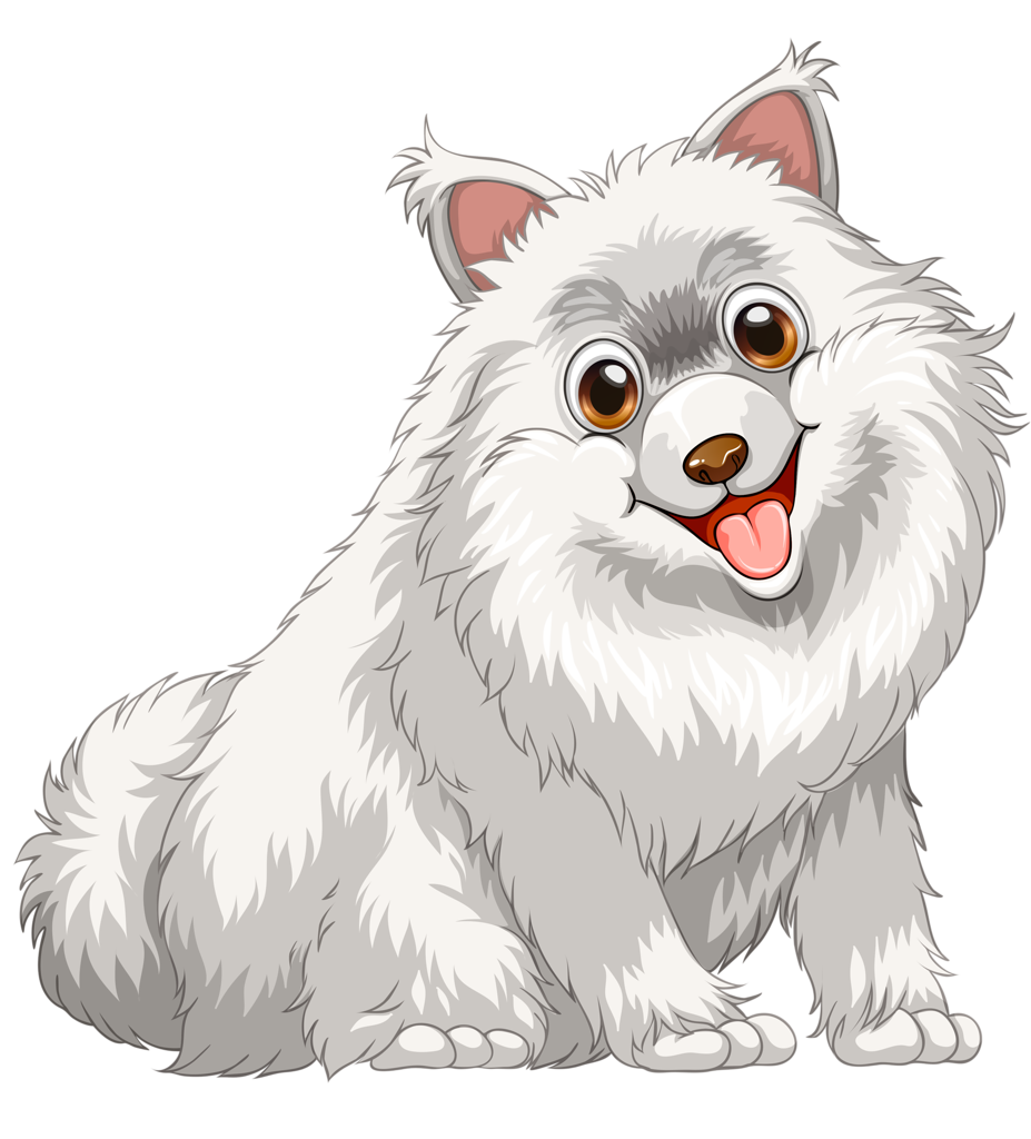 westie drawing white fluffy dog