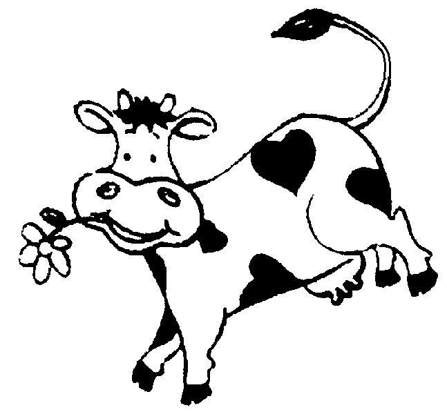 Cattle clipart real cow. Best happy cows