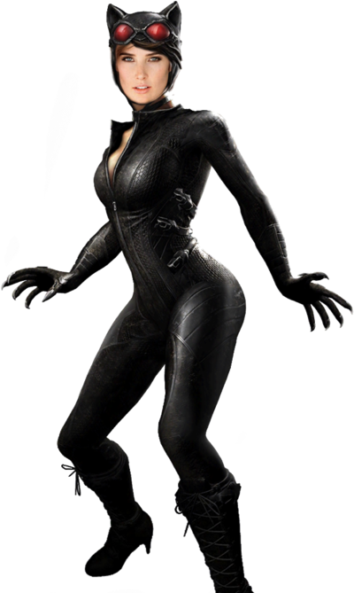 catwoman transparent cute