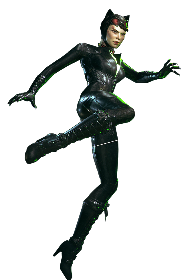 Catwoman transparent arkham city. Knight render by spider