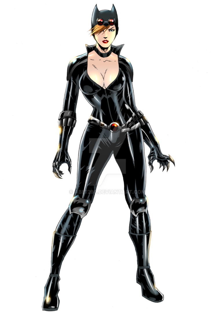 Catwoman transparent cyberpunk. Commission by abe on